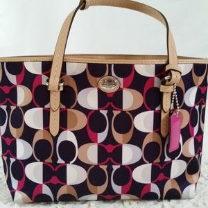 COACH F50454 PEYTON DREAM C TOP HANDLE TOTE